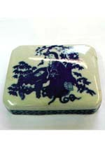 China Porcelain Lid To Box Fixed